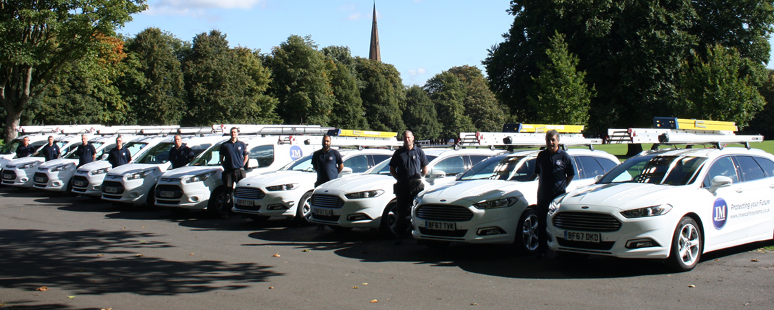 JM Security Systems New Fleet Vehicles